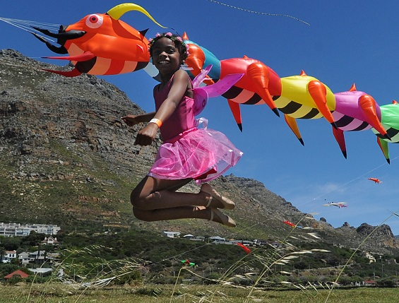 'Rise Up' and fly at Africa's biggest kite festival